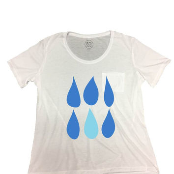 Women's Drops Tee With Pocket