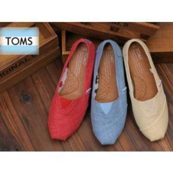 TOMS UNISEX FLAT SHOES FASHION LEISURE LOAFERS-6