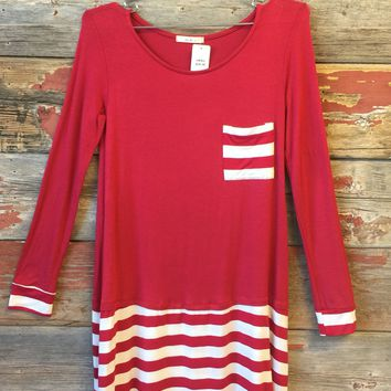 City Girl Pocket Mini Dress