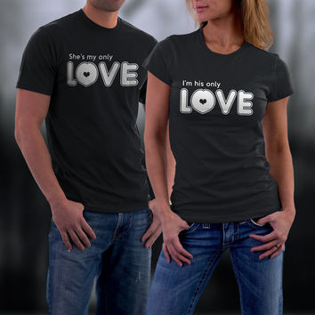 Couples Shirts, Couple T Shirts, Funny Couple Matching Shirts, His and Her Shirts, Couples Tees, Couples Gift,Valentine Gifts
