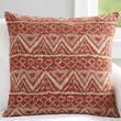 Ikat Jacquard Pillow Cover