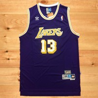 La Lakers #13 Wilt Chamberlain Retro Swingman Jersey | Best Deal Online