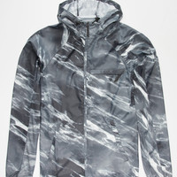 Nike Sb Steele Marble Jacket Black  In Sizes