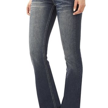Juniors Classic Stretch Bootcut Denim Jeans