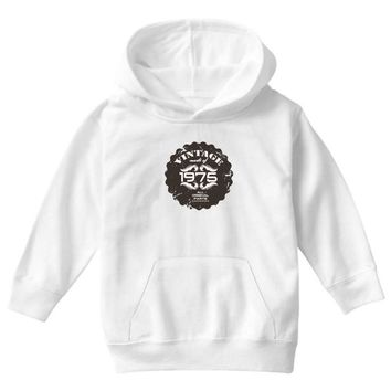 vintage made of 1975 all original parts Youth Hoodie