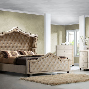 Diamond Canopy 6 Pcs Bedroom Set Collection - Dm001