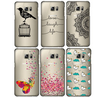 S6 Edge Plus Unicorn Butterfly PatterBack Cover Protective Cell Phone Case For Samsung Galaxy S6 Edge Plus Case Cover Capa