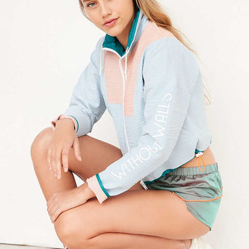 Without Walls Seersucker Track Jacket - Urban Outfitters