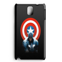Captain America Winter Soldier Poster Samsung Galaxy Note 3 Case