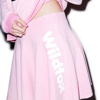 Wildfox Couture Vintage Sport Mini Skirt Dream House