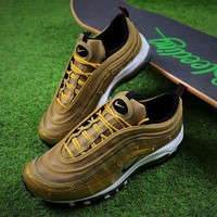 Best Online Sale Nike Air Max 97 CR7 Cristiano Ronaldo Patch AQ0655-700 Men's Running Shoes Trainers