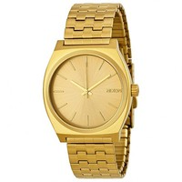 Nixon Time Teller Gold-tone Men's Watch A045511 - Jomashop