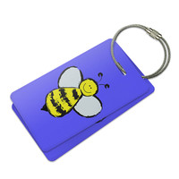 Busy As A Bee Luggage Tag Set