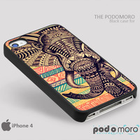 Aztec Elephant Pattern for iPhone 4/4S, iPhone 5/5S, iPhone 5c, iPhone 6, iPhone 6 Plus, iPod 4, iPod 5, Samsung Galaxy S3, Galaxy S4, Galaxy S5, Galaxy S6, Samsung Galaxy Note 3, Galaxy Note 4, Phone Case
