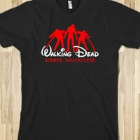 Walking Dead - Zombie Apocalypse-Unisex Black T-Shirt