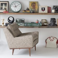 Jack Chair - Nubby Tweed