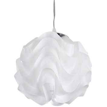 Billow Pendant Light in White