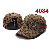 GUCCI Cap Women Men Embroidered Adjustable Travel Hat Sport Running Baseball 4084