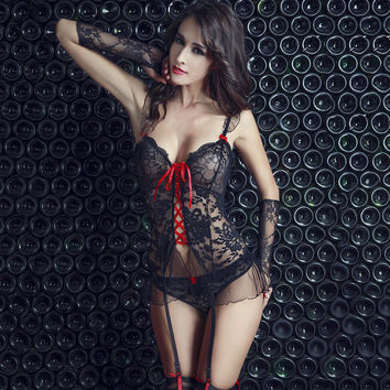 Cute On Sale Hot Deal Sexy Hollow Out Exotic Lingerie [6596216515]