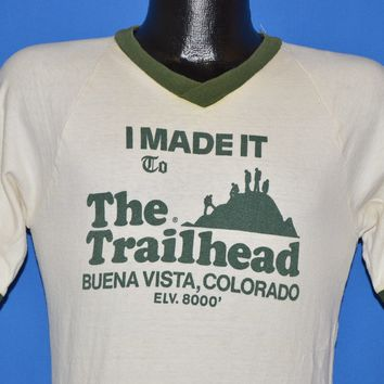 70s I Made It To The Trailhead Colorado t-shirt Small