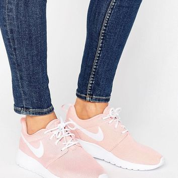 Nike Roshe One Trainers In Pink at asos.com