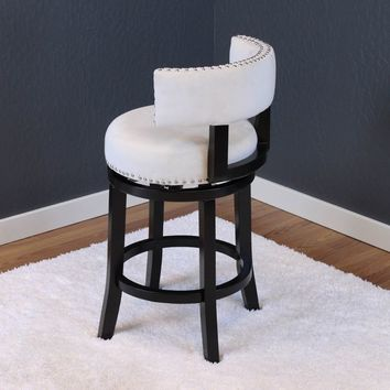 Mossoro Velvet Swivel Counter Chair | Overstock.com Shopping - The Best Deals on Bar Stools