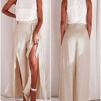 Jocelyn Layered Maxi Trousers