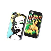 Katy Perry / Marilyn Monroe iPhone 4/4s or 5 Case from WANDERLUSTINY