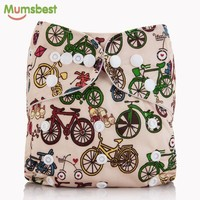 [Mumsbest] 2016 New Arrival Baby Cloth Diaper Cover Reusable Baby Nappies Cover Nappy Washable Ajustable Pocket Diapers