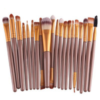 professional make up brushes 20 pcs/set Makeup Brush Set (Gold)