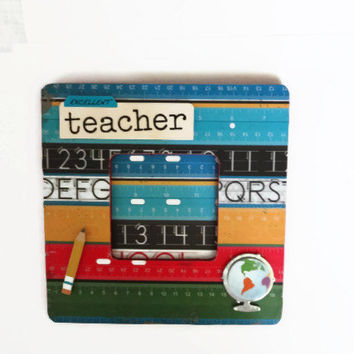Teacher Picture Frame Wood Photo Frame