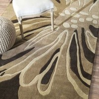 Rugs USA Radiante Floral Transition Brown Rug