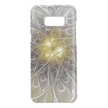Flourish With Gold Modern Abstract Fractal Flower Get Uncommon Samsung Galaxy S8 Plus Case