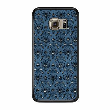 Haunted Mansion Inspired Haunted Wallpaper Samsung Galaxy S6 Edge Case