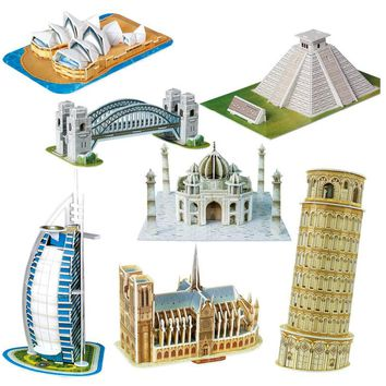 Wonders of the World 3D Puzzle