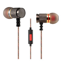 Original KZ ED Gold Plated Noise Isolating HD HiFi Earphone Headphones Super Bass Headsets Earbuds for Phones 3.5mm Universal