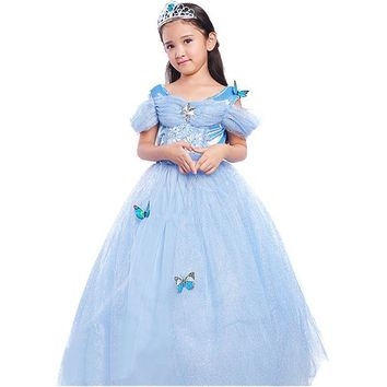 New Baby Dress Girls Christmas Tutu Costumes For Girls Dresses Kids Role-play Party Fancy Dress Children Clothing