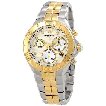 TechnoMarine Sea Pearl Mother of Pearl Dial Mens Watch 715020