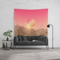 Landscape & gradients VIII Wall Tapestry by vivianagonzalez