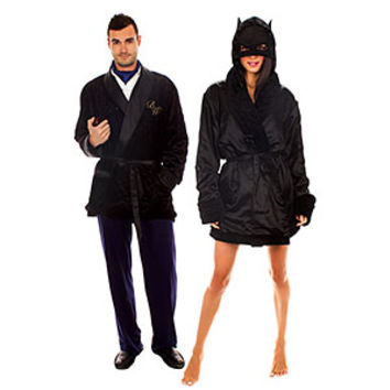Bruce Wayne Smoking Jacket Robe - Exclusive
