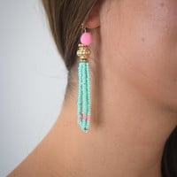 Tassie Mint Earrings