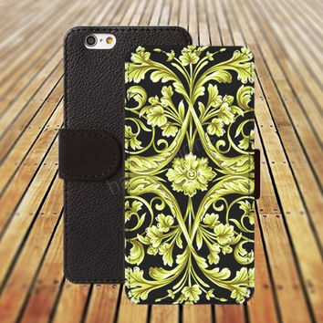 wooden case iphone 5/ 5s iphone 4/ 4s iPhone 6 6 Plus iphone 5C Wallet Case , iPhone 5 Case, Cover, Cases colorful pattern L010