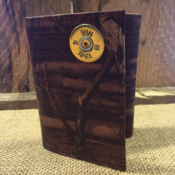 12 Gauge Mossy Oak Wallet