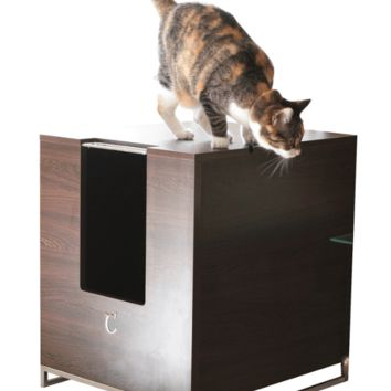 ModernCat Designs Litter Box Hider - Brown