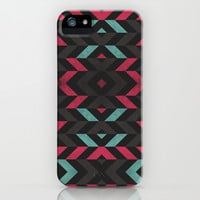Pattern Center iPhone & iPod Case by Maximilian San