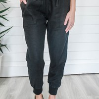 Off The Beaten Path Pants - Black