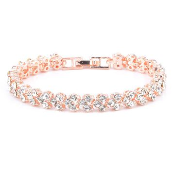 Fashion Woman Crystal Diamond Bracelets