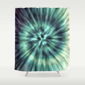 TIE DYE II Shower Curtain by Nika | Society6