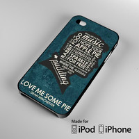 Supernatural Inspired Quote A0034 iPhone 4S 5S 5C 6 6Plus, iPod 4 5, LG G2 G3, Sony Z2 Case