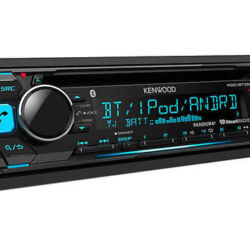 Kenwood KDC-BT365U Stereo Receiver with Bluetooth for 88-04 Jeep® Vehicles